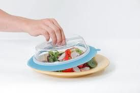Plate topper from Shark Tank- great idea!  I want some!!!!