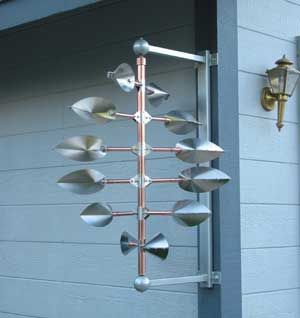 copper kinetic sculptures for sale by artists | At my studio (for sale!)