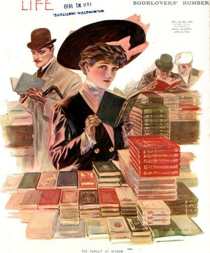 Life 1910 Henry Hutt Cover Illustration