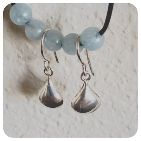 Sterling teardrop earrings Very pretty and simple. All sterling silver & handcrafted. trisanna Jewelry Earrings