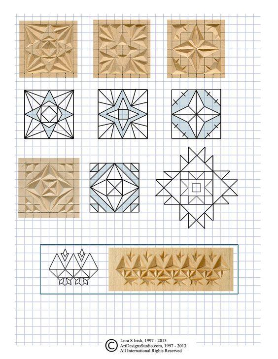 Free chip carving pattern by lora irish faragás