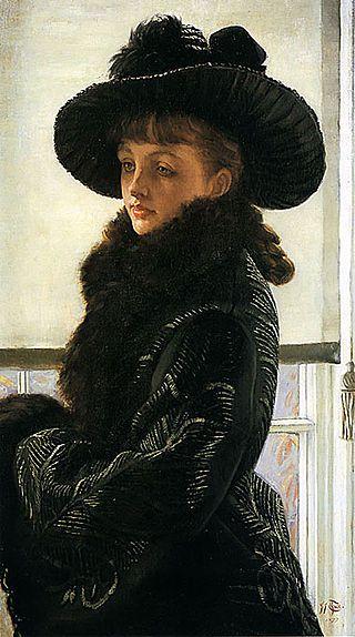 James Tissot - Mavourneen -  (Kathleen Newton,) 1877