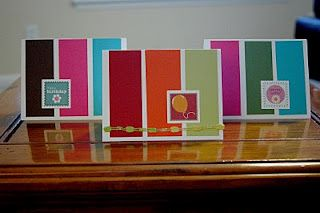 Chic homemade cards