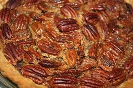 ~ My pecan Pie ~  1 cup white or brown sugar  1 cup of corn syrup  1/2 cup butter  1-2 cup of pecan  1/2 teaspoon salt  1 teaspoon vanilla  3 eggs   Combine butter, sugar, corn syrup, salt and vanilla. Add eggs one at a time and then blend thoroughly. Fold in pecans and pour into 9 inch unbaked shell. Bake for 1 hour @350. Cool before eating.:D