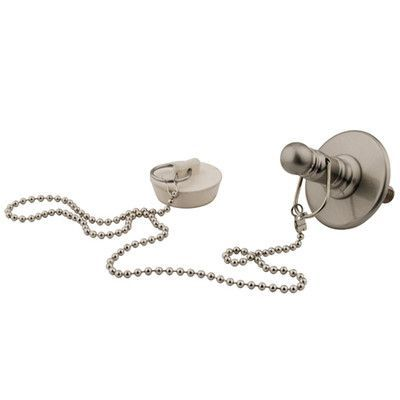 Kingston Brass Vintage Replacement Rubber Stopper, Chain and Attachment for CC1008