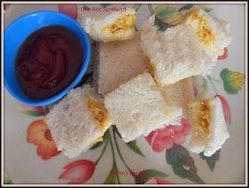 One Bite Sandwich ~ Sneha's Recipe