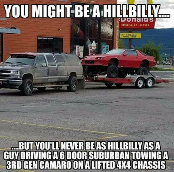 Pin On One Big Happy Country Redneck Hillbilly And Hicks From The Stick Family