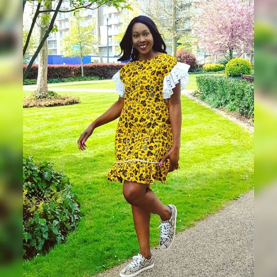 Trendiest Short Kitenge Styles | fashenista