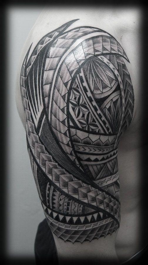 half sleeve tribal tattoos - Hledat Googlem