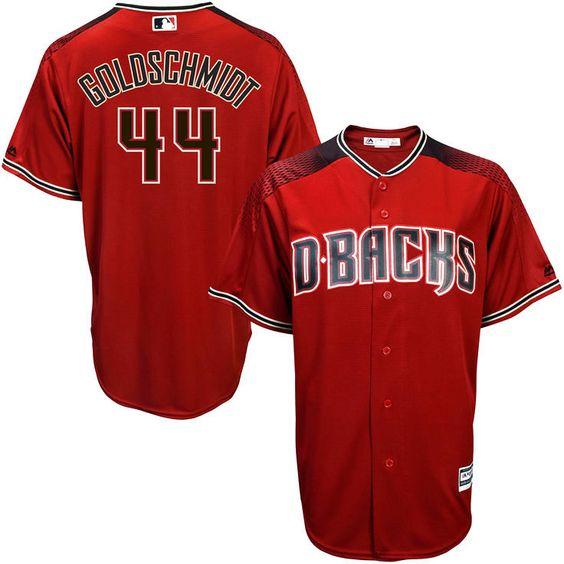 3898adc0 Paul Goldschmidt Arizona Diamondbacks Majestic Youth Alternate Official  Cool Base Player Jersey - Brick Red - outlet Arizona Diamondbacks 44 ...