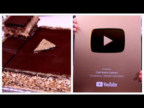 وصلني الدرع الذهبي مع الجديد طورطة درع اليوتيوب الذهبية بطبقات باردة من الذ مايكون سهلة و اقتصادية Youtube In 2021 Iphone Chef Electronic Products