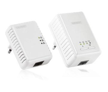 STARTER KIT POWERLINE WIFI 500Mbps - L'adattatore Eminent Powerline a 500 Mbps con WiFi a 300 Mbps e mini adattatore Powerline a 500 Mbps sono l'estensione ideale della rete domestica. Il metodo più semplice per collegare in wireless notebook, computer, Smart TV, lettori multimediali e console giochi al router Internet esistente. http://www.infoshopsrl.it/starter-kit-powerline-wifi-500mbps.html