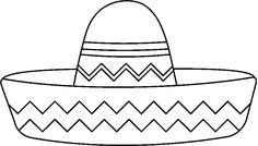 Maestra De Infantil Prendas De Vestir Para Colorear O Imprimir Gorro Mexicano Sombrero Mexicano Revolucion Mexicana Para Colorear