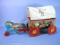 roy rogers wagon pull toy
