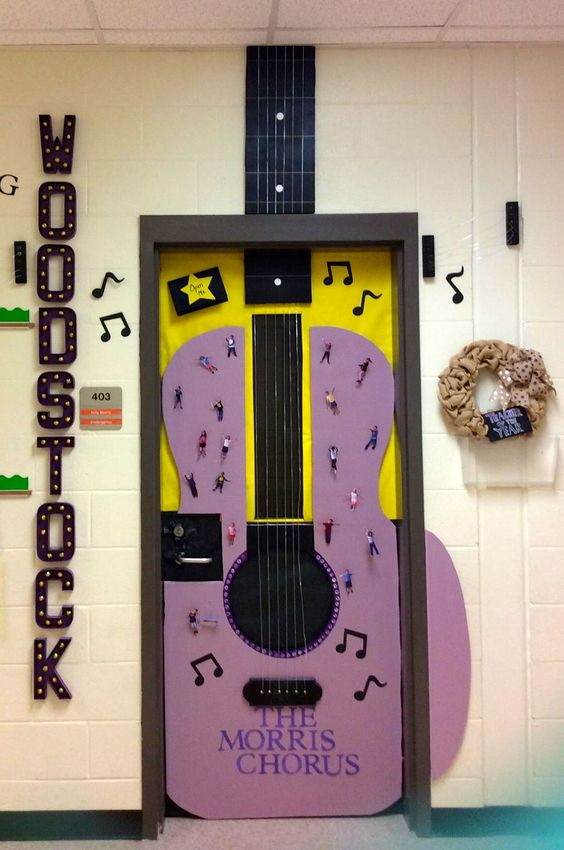 Music Teacher Classroom Decorations : Music rooms student and teacher doors on pinterest