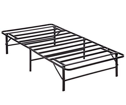 Paylesshere Bed Frame Platform Folding Bed Frame Twin Metal Base