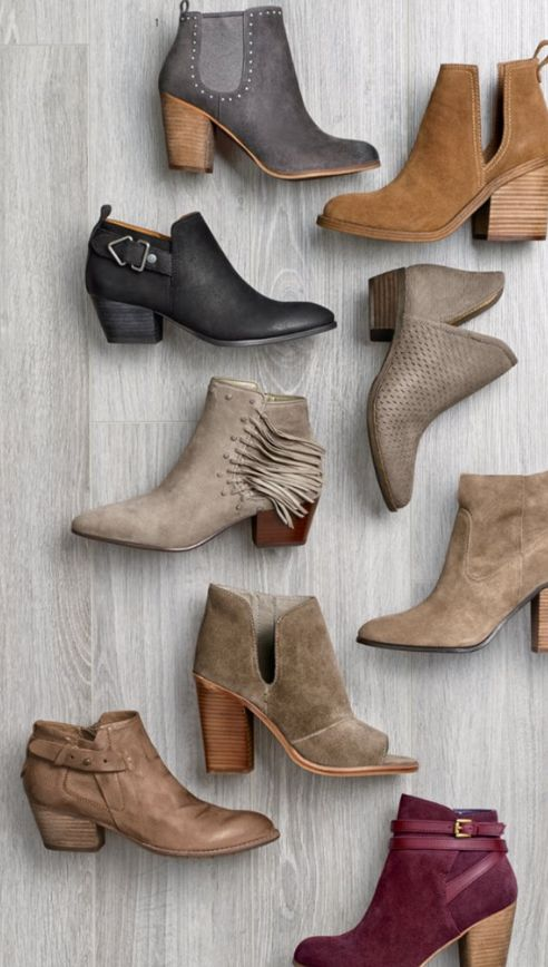 gorgeous ankle booties