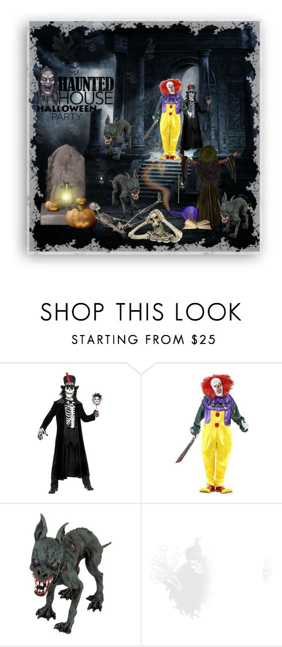 """🎃🎃COME OUT AND PLAAAAY!!🎃🎃"" by rahzzi ❤ liked on Polyvore featuring interior, interiors, interior design, home, home decor, interior decorating and Halloweenparty"