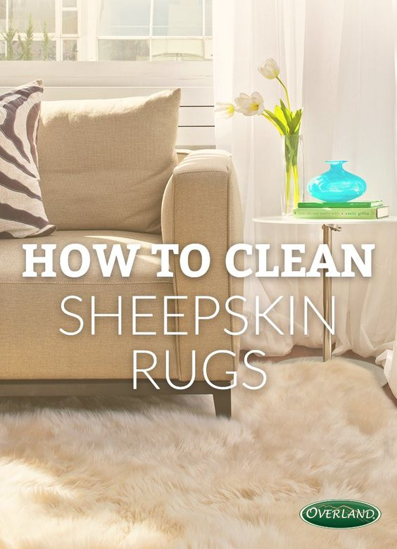 How to care for store and wash your sheepskin rug | Cracking