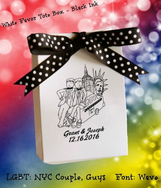 150 LGBT Wedding Favor Gift Bags That Save You Money and Impress Your ...