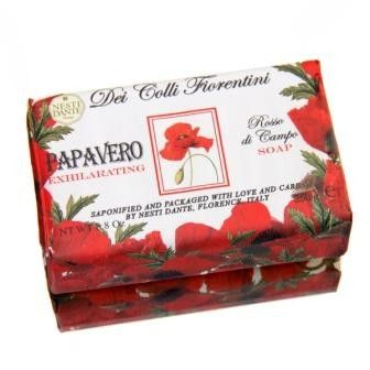 "Poppy Soap 4.25"" x 2.5"" x 1.25"" 8.8 oz"