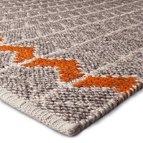 Chevron Area Rugs Rugs And Orange On Pinterest