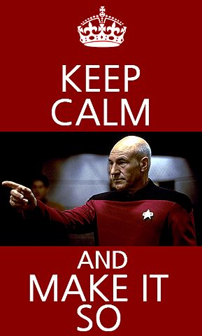 Sorry I couldnt help it. Its Patrick Stewart for goodness sake!!!