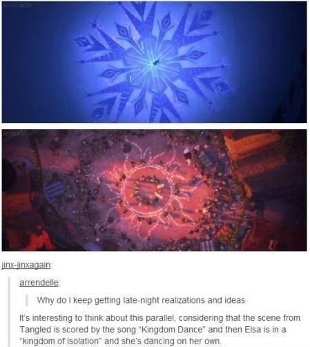 This parallel: | 31 Tumblr Posts Only True Disney Fans Will Appreciate