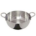 200V stainless steel deep fryer 22cm for electromagnetic cooker