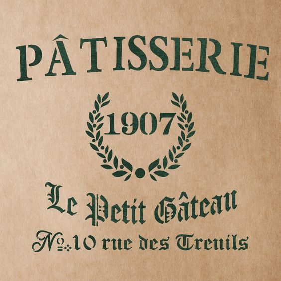 PATISSERIE Stencil for Painting Signs Crafting DIY Wall decor - Artistic stencil #JBOUTIQUESTENCILS