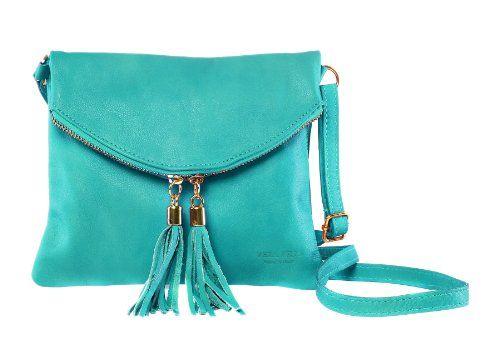 """Bags4Less """"Dubai"""" Clutch / Abendtasche / Damentasche aus echtem Leder (22bx19h cm) (Türkis) Bags4Less http://www.amazon.de/dp/B00KDHPMLM/ref=cm_sw_r_pi_dp_EUkJtb1PWQPTSNND"""