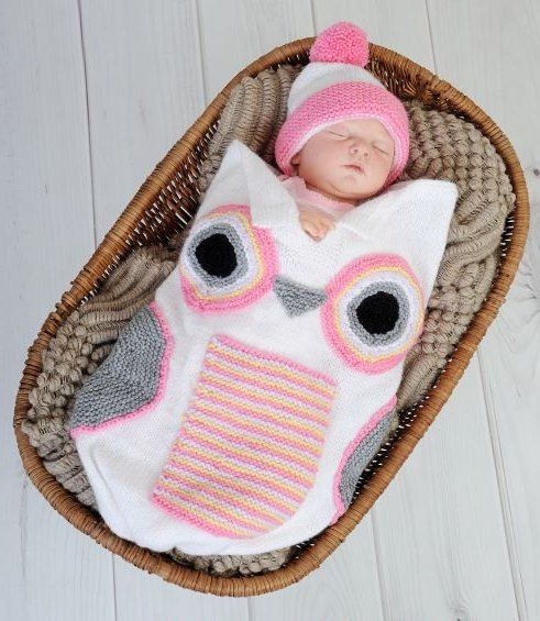 Babies, Baby cocoon and Knitting patterns uk on Pinterest