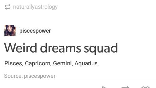 Weird dreams squad