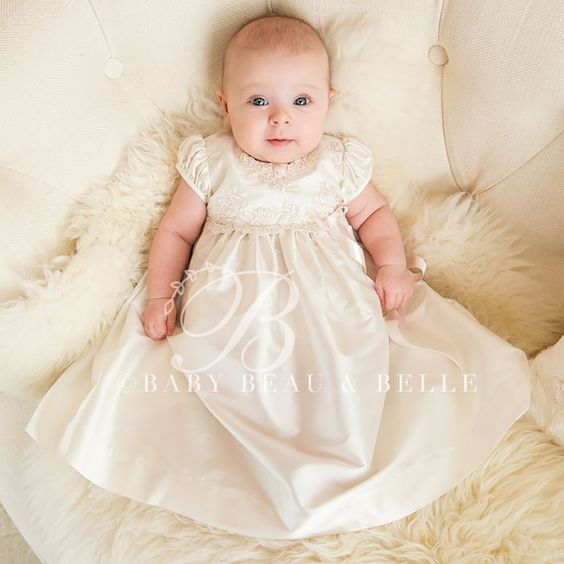 Shop the most beautiful baby girl Christening gowns & dresses with our latest collection! Our stunning, handmade infant baptism pieces are heirloom quality and .