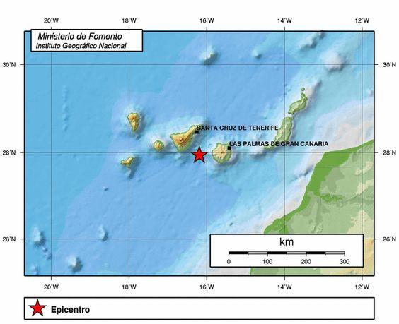 Terremoto Atlántico Canarias 14 septiembre | El Eco de Canarias