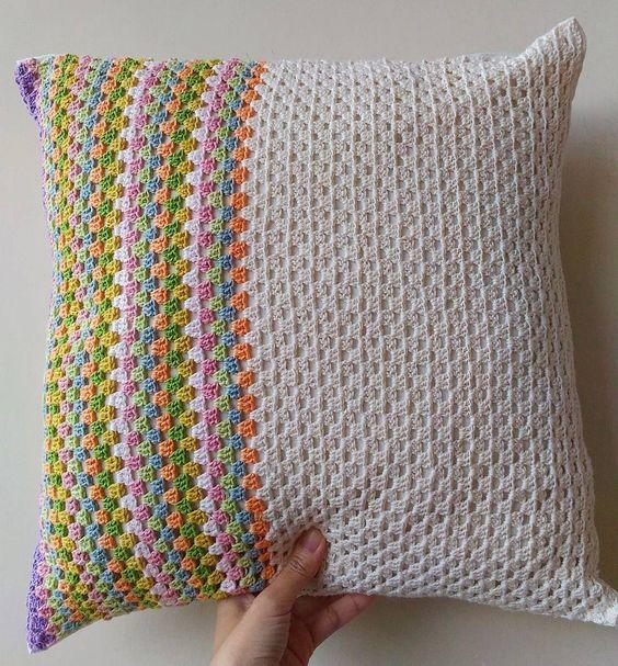 Made by my mom  #crochetaddict #crochet #crocheting #craftastherapy #rajut #rajutan #handmade #crochetersofinstagram #ilovecrochet #instacrochet #crochetlove #DIY #benangrajut #merajut #crochetinspiration #bhooked #crochetgirlgang #crochetconcupiscence #makersgonnamake #havefunwithyarn #petalcrush #sarungbantal #sarungbantalrajut #homedecor #maker #stitchandhustle #handmadewithlove #yarn