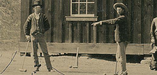 Pseudo-Idyll in New Mexico: Billy the Kid (links) beim Krokett-Spielen