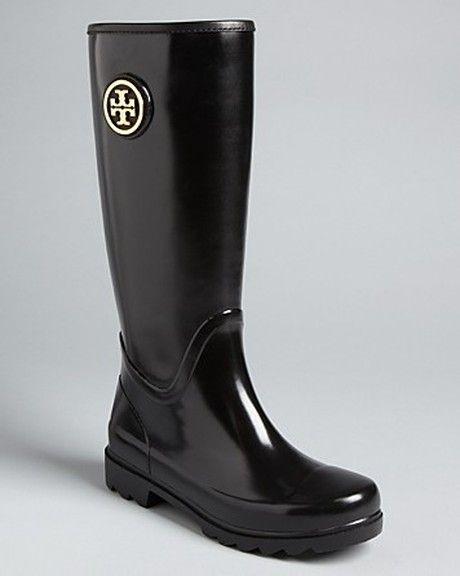 Sarah Logo Rain Boots - Lyst