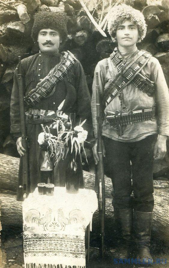 Бойцы национальной армии Грузии.