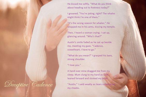 Only 2 weeks to go! DECEPTIVE CADENCE by  Katie Hamstead #TeaserTuesday #Romance http://www.amazon.com/dp/B00WZSQZ5E/