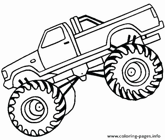 Monster Trucks Coloring Pages Beautiful Printable Coloring Pages Trucks Springspringb Monster Truck Coloring Pages Monster Truck Drawing Truck Coloring Pages