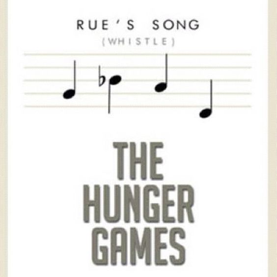 notes to rue s whistle from the hunger hunger