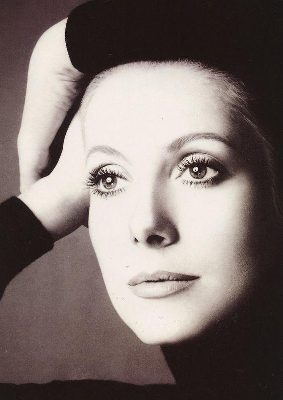 le-piu-belle:  Catherine Deneuve by Richard Avedon (for Chanel 5, 1972)
