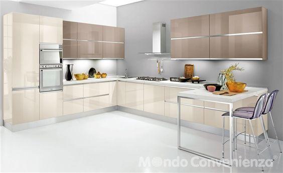 Veronica - Cucine - Moderno - Mondo Convenienza   Arredamento casa ...
