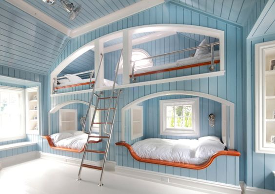 How great is this?!  So much room to have family slumber parties!