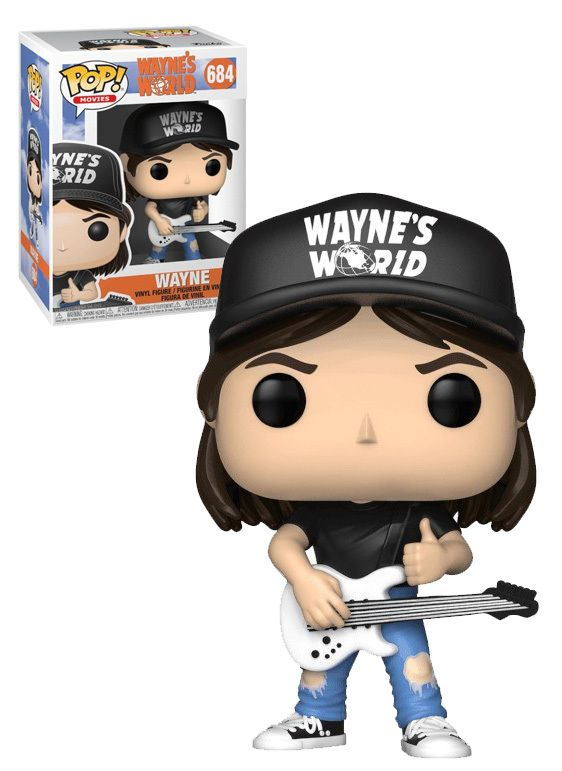 "WAYNE/'S WORLD WAYNE 3.75/"" POP MOVIES VINYL FIGURE FUNKO 684"