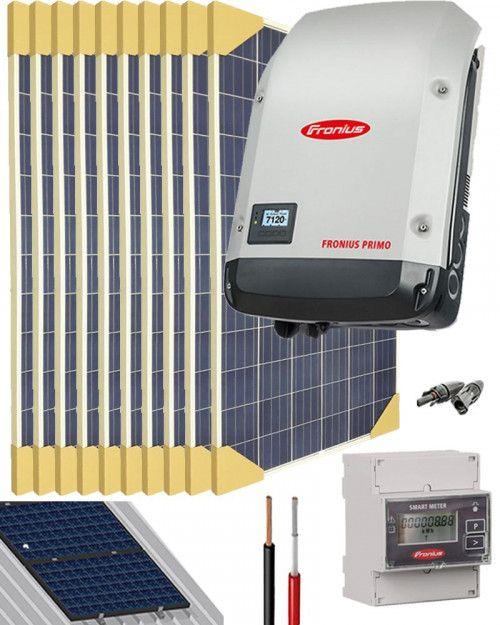 Kit Conexion Red Monofasico 3000w 16000whdia Con Vertido 0 Al Mejor Precio Con Imagenes Conexion Kit Solar Energia Solar