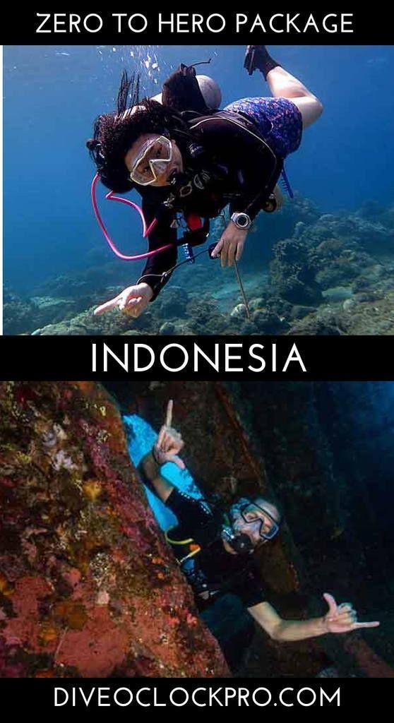 Padi Zero To Hero Package Bali Indonesia Click For Details Www Diveoclockpro Com Dive O Clo Scuba Diving Courses Best Scuba Diving Scuba Travel