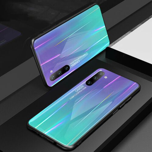 For Samsung A10 A20 A30 A50 A70 Tempered Glass Back Case Rubber Frame Skin Cover Ebay In 2020 Samsung Blue Phone Case Case