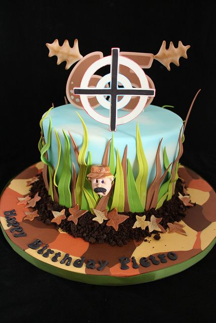 Hunting cake | Flickr - Photo Sharing!